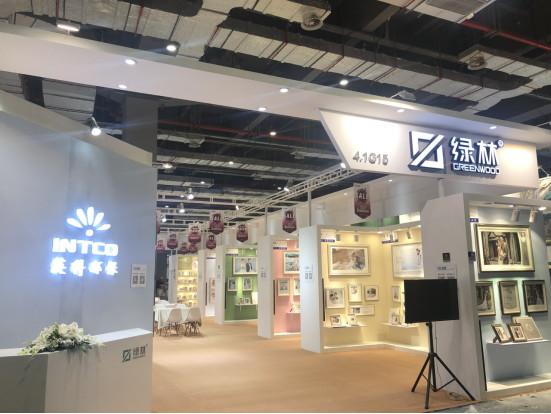 绿林新品亮相上海国际婚纱展