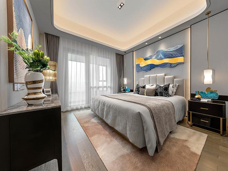 轻奢典雅的卧室空间