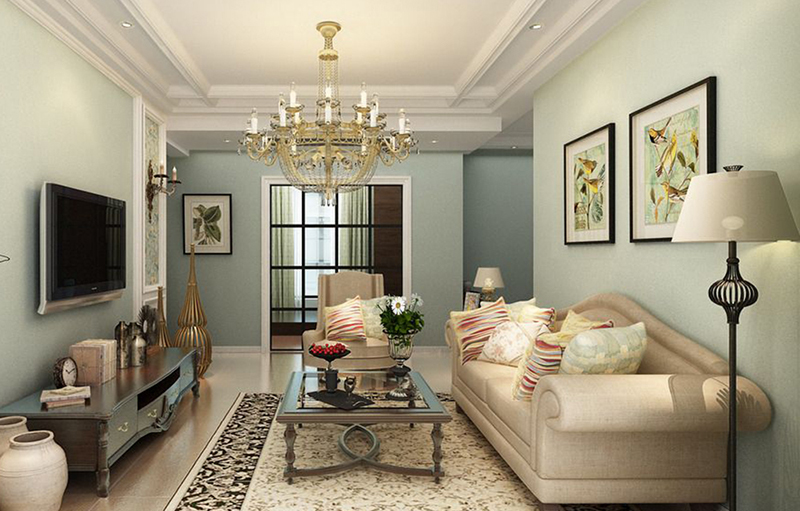 Picture frames ideas for American style living room