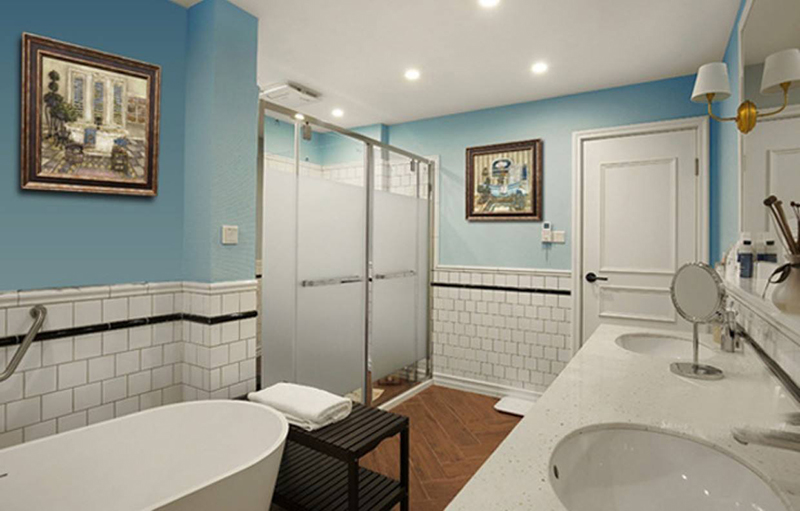 Picture frame ideas for the bathroom