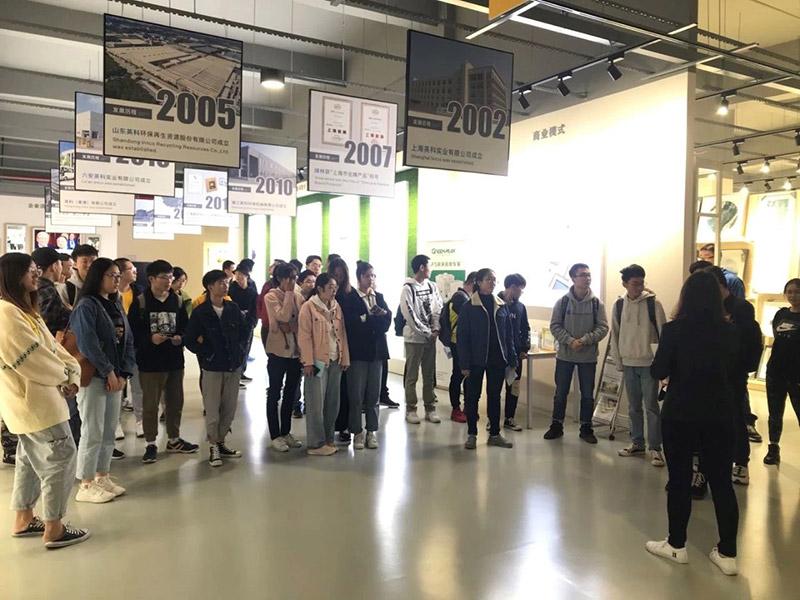 上海英科司联合上海应用技术大学高分子材料专业展开企业实训活动