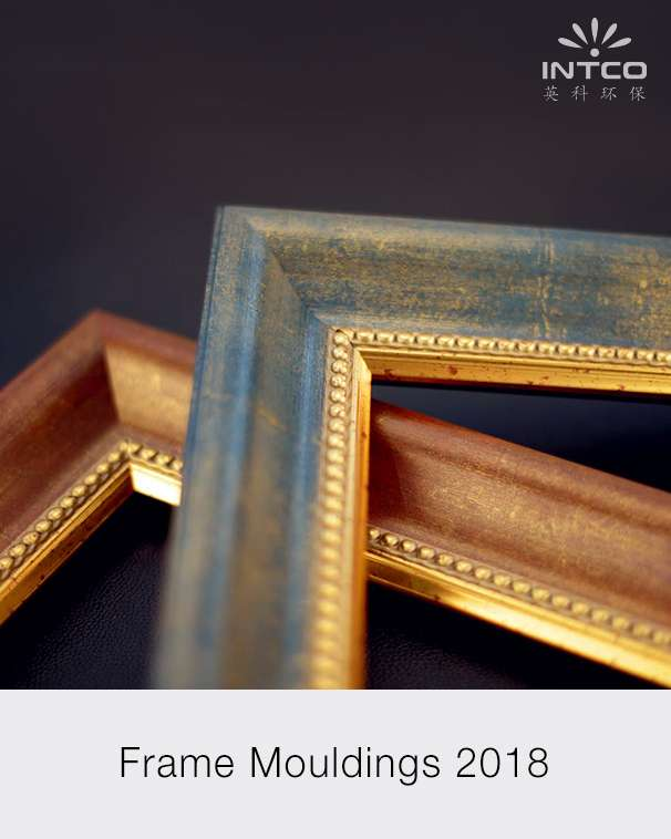 2018 Classical metal style polystyrene picture frame mouldings PDF catalog cover