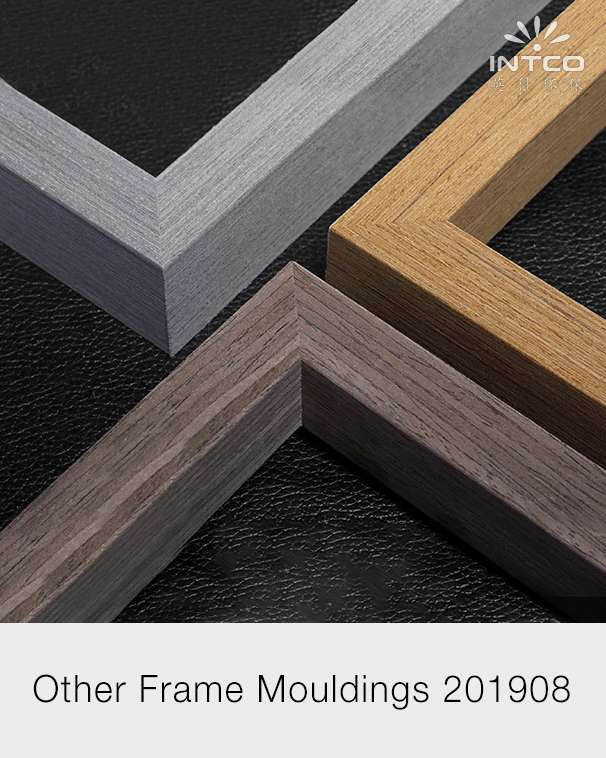 PS patina, wood veneer, aluminum and MDF picture frame moulding PDF catalog Aug.2019