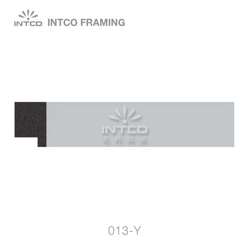 013-Y polystyrene picture frame moulding swatch sample