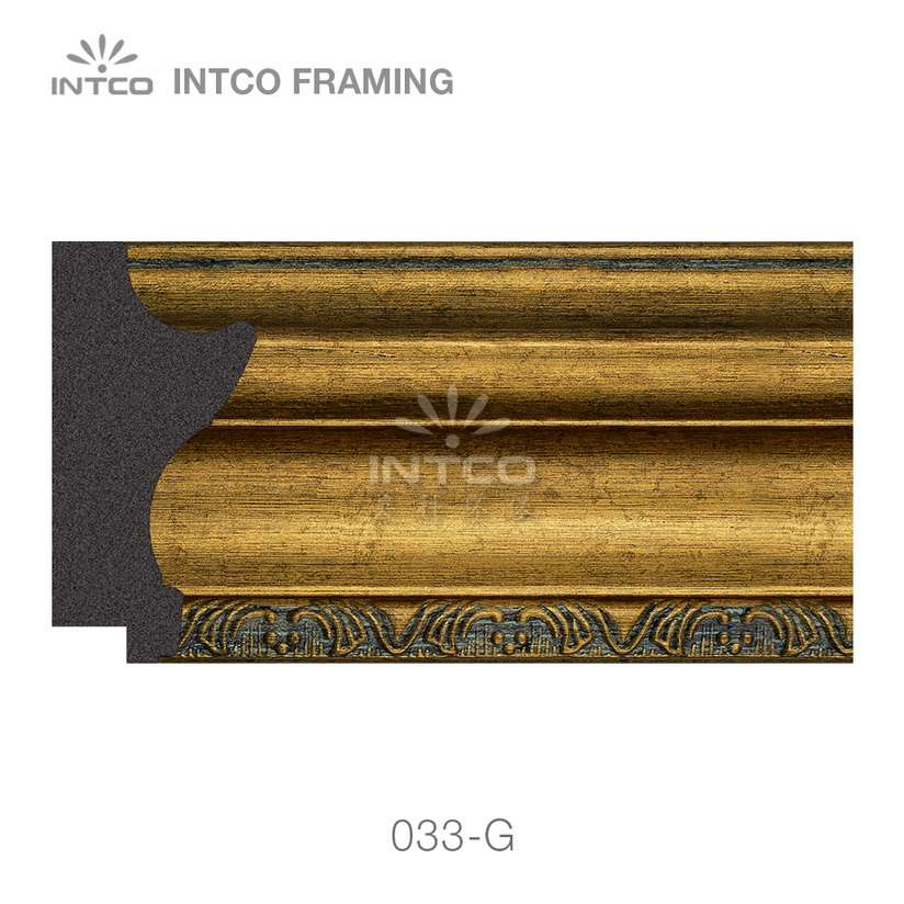 INTCO 033-G polystyrene picture frame moulding for sale