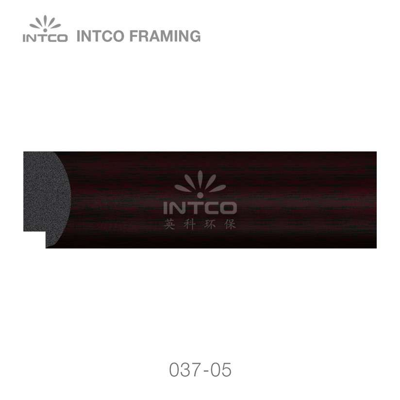 037-05 polystyrene art frame moulding swatch sample