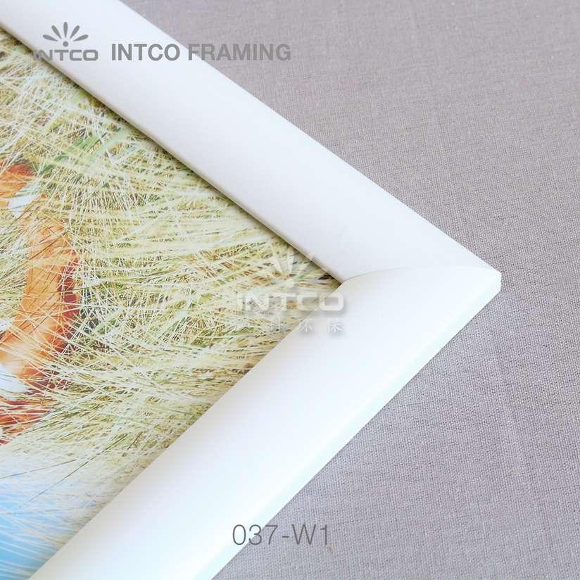 037-W1 PS art frame corner detail