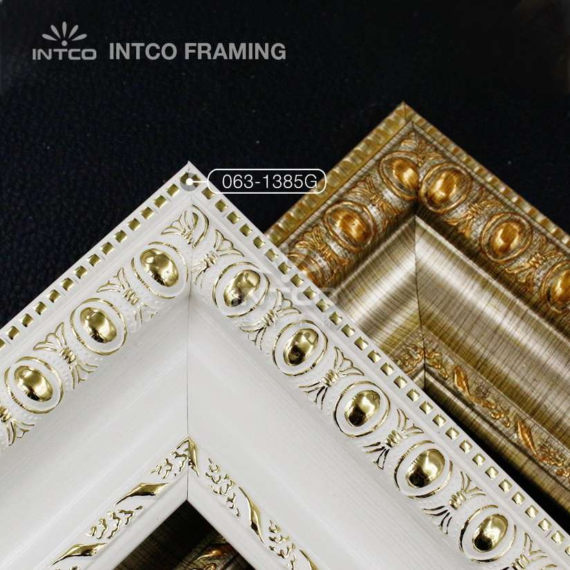 #063 3-1/4 Inch PS plastic picture frame mouldings