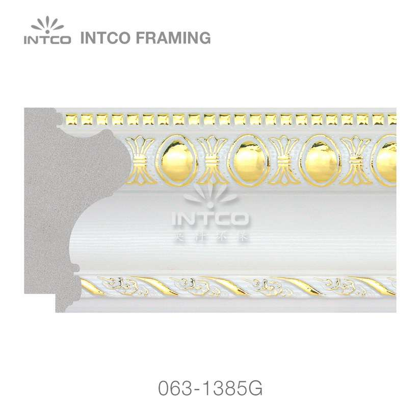 063-1385G unfinished PS picture frame moulding