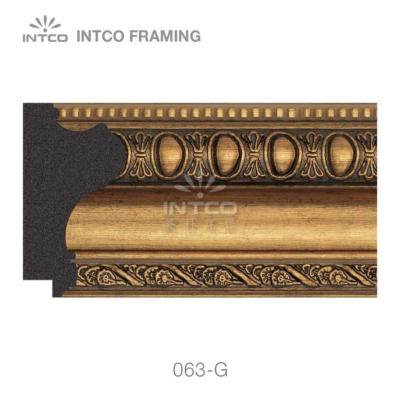 063-G PS picture frame moulding swatch sample