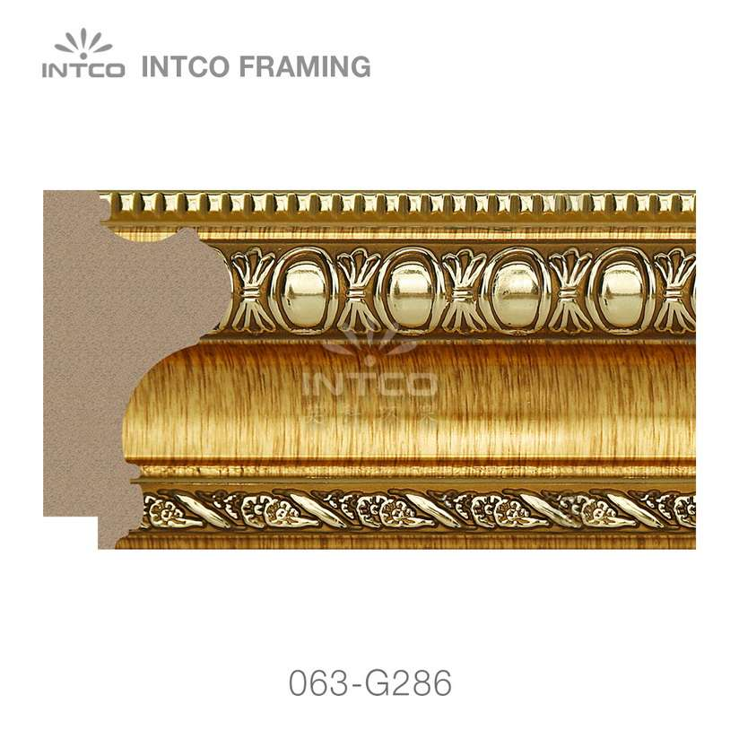 063-G286 PS picture frame moulding swatch sample