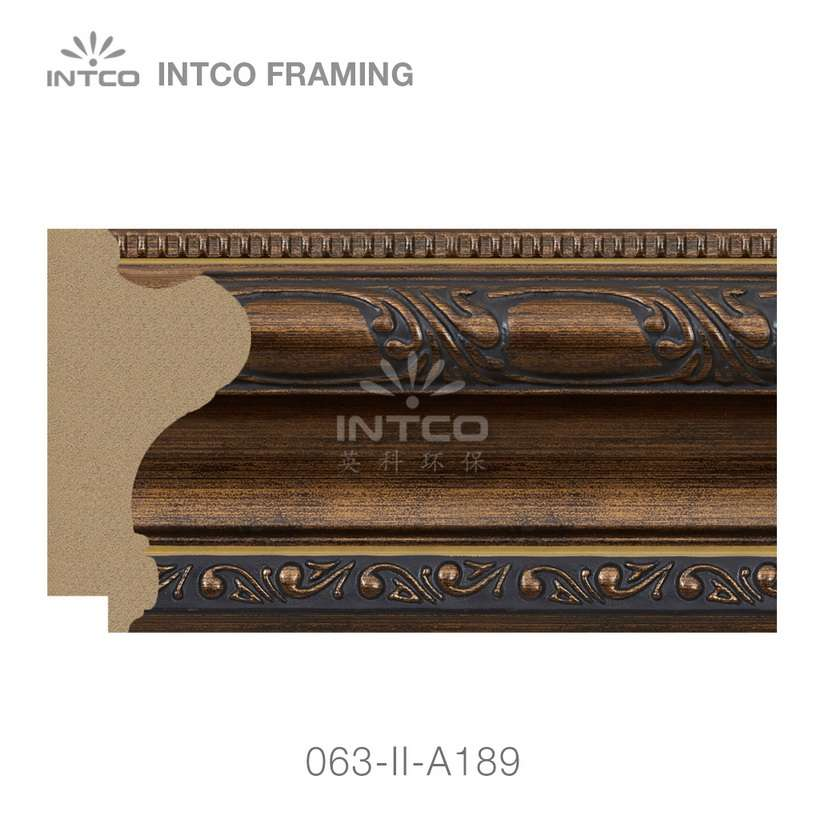 063-II-A189 PS picture frame moulding swatch sample