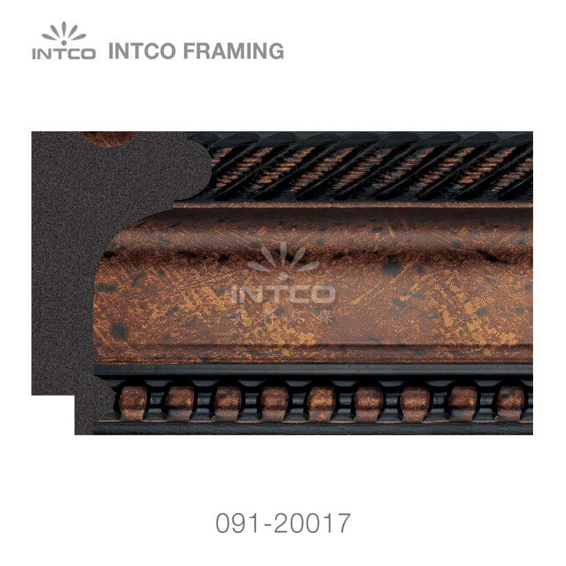 091-20017 PS picture frame moulding swatch sample