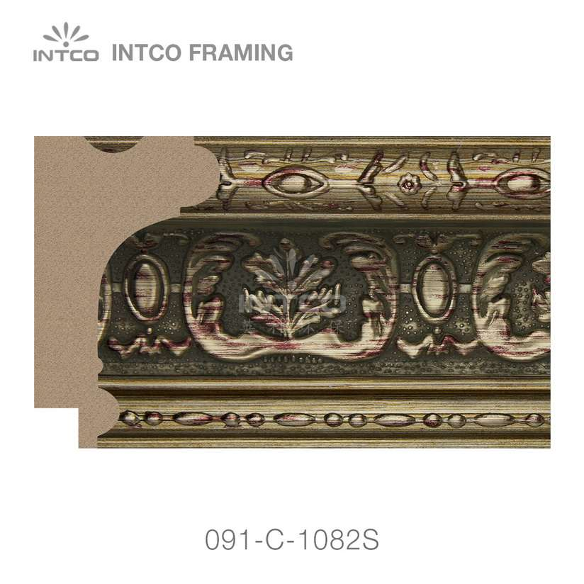 091-C-1082S PS picture frame moulding swatch sample