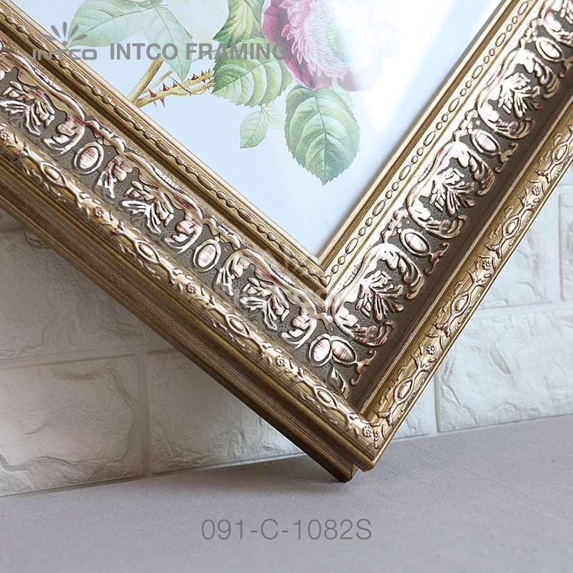 091-C-1082S PS picture frame moulding corner sample
