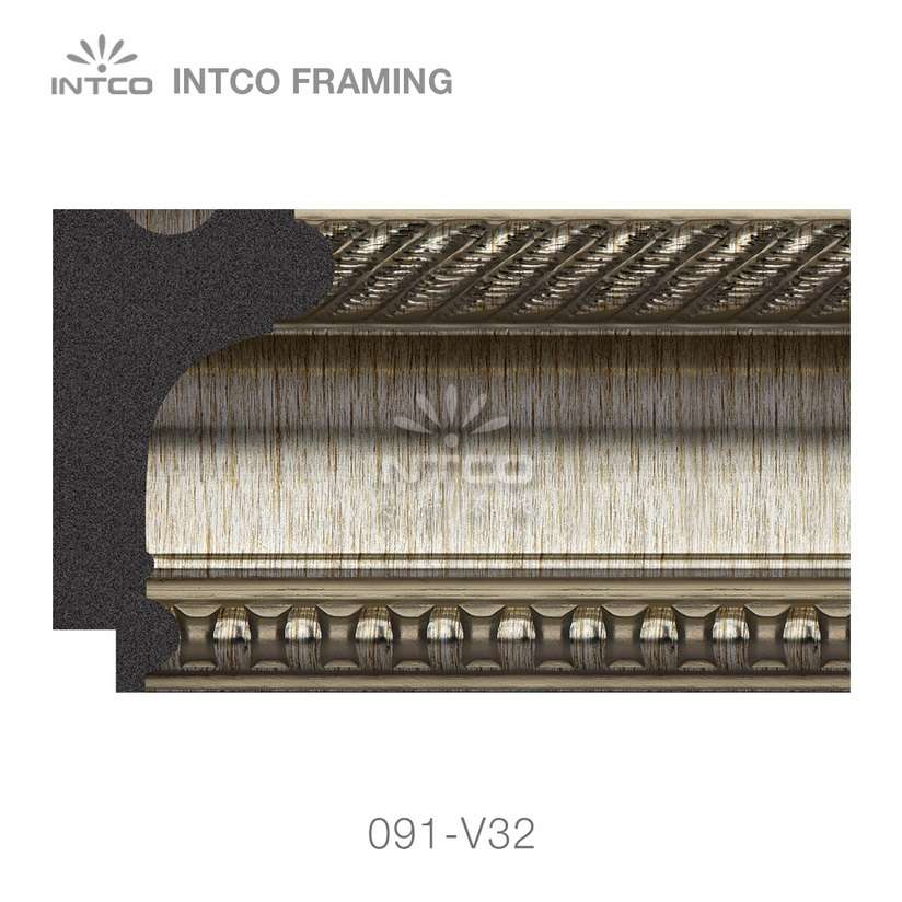 091-V32 PS picture frame moulding swatch sample