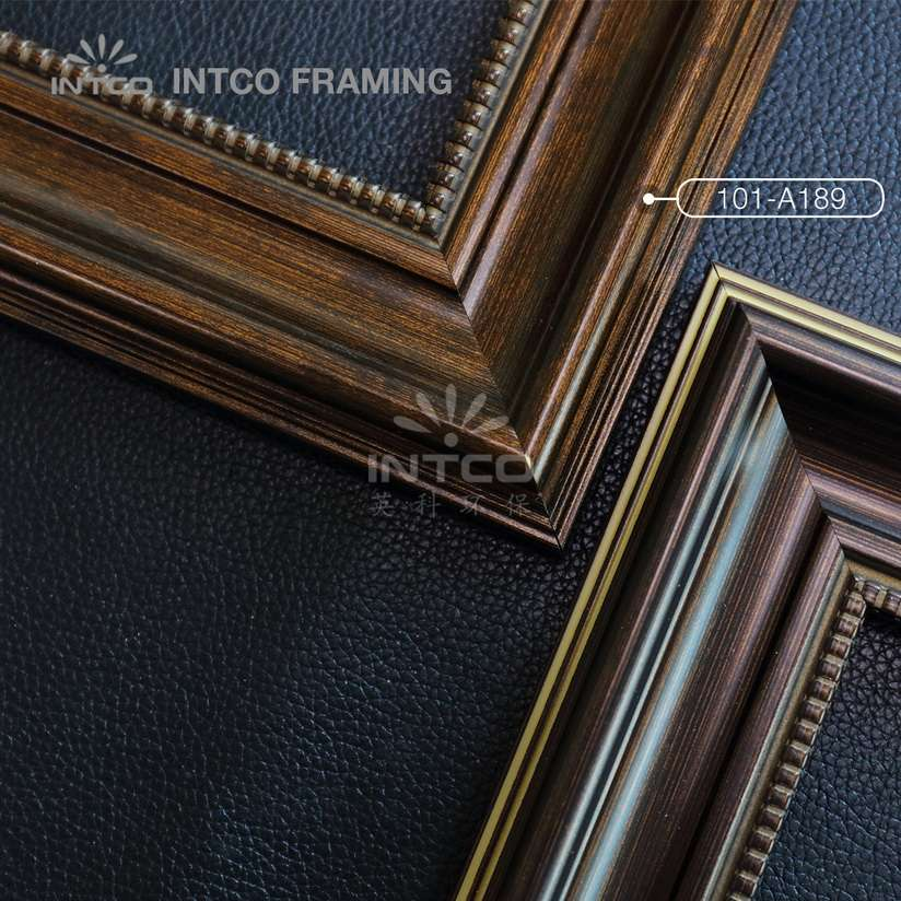 101-A189 PS picture frame mouldings bronze finish
