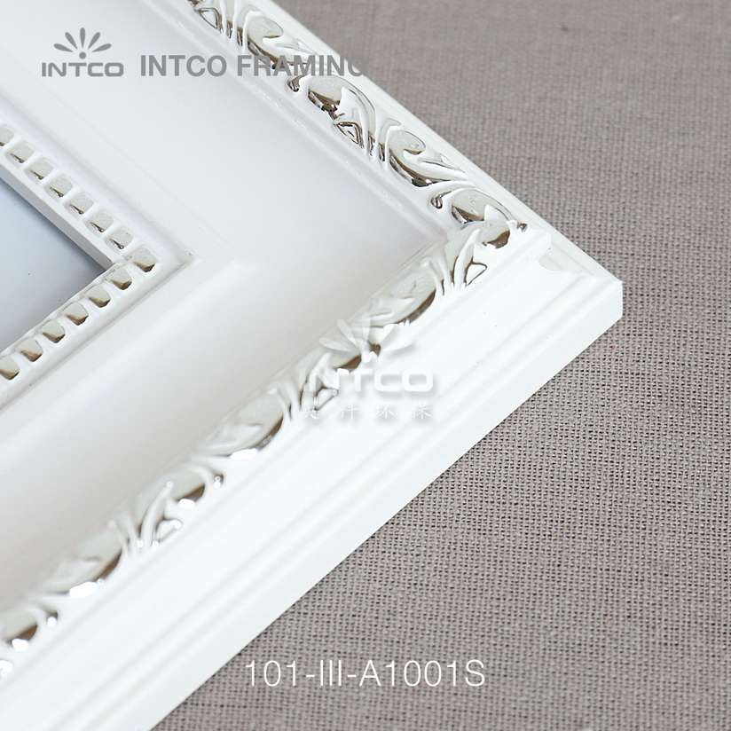 101-III-A1001S PS picture frame corner detail