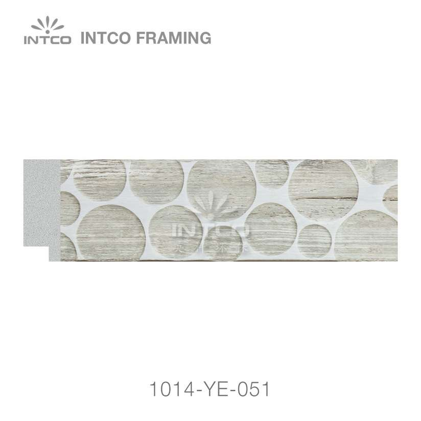 1014-YE-051 PS photo frame moulding swatch sample