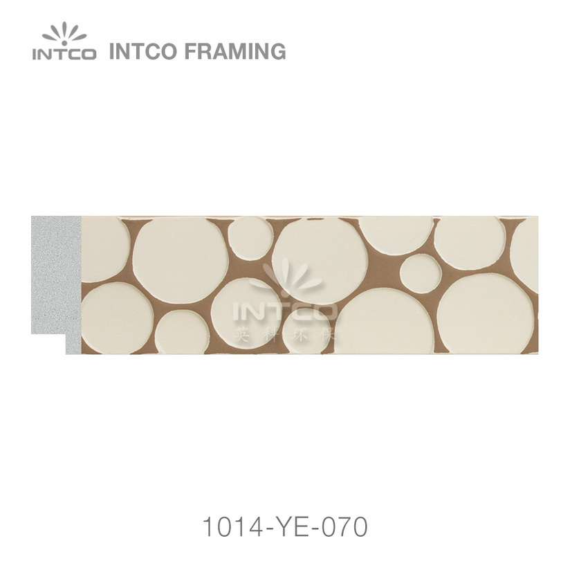 1014-YE-070 PS photo frame moulding swatch sample