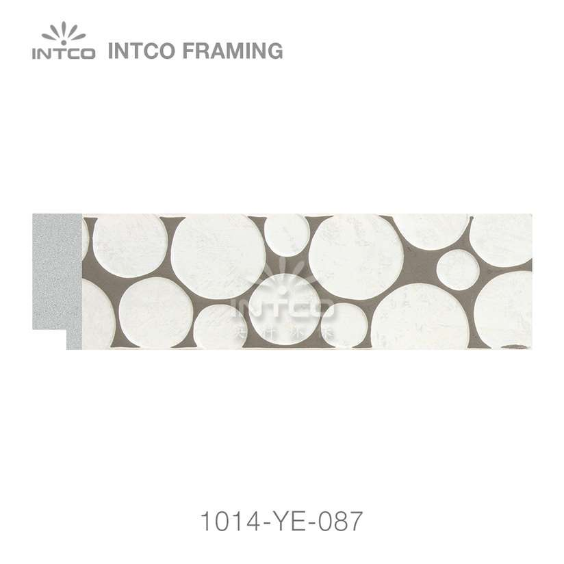 1014-YE-087 PS photo frame moulding swatch sample