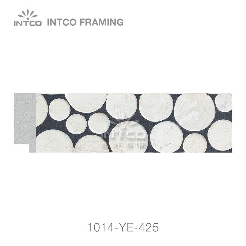 1014-YE-425 PS photo frame moulding wholesale