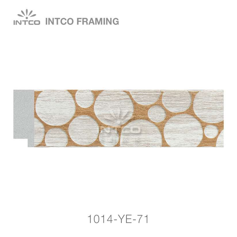 1014-YE-71 PS photo frame moulding swatch sample