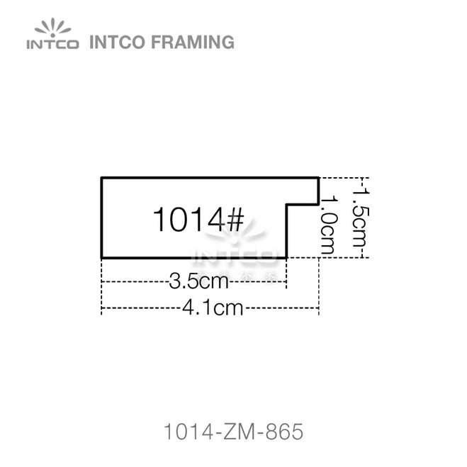 1014 series PS frame moulding profile
