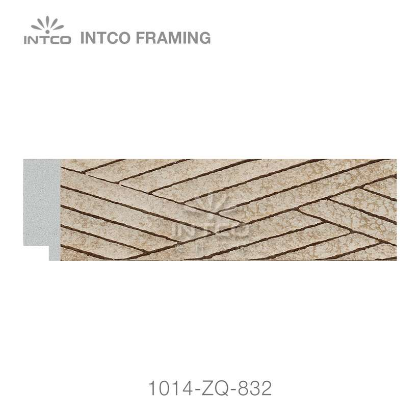 1014-ZQ-832 PS photo frame moulding swatch sample