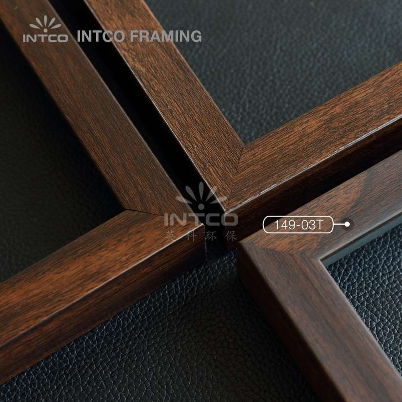 149-03T PS picture frame moulding wood texture finish