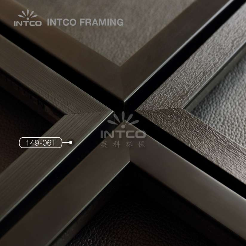 149-06T PS picture frame moulding black finish