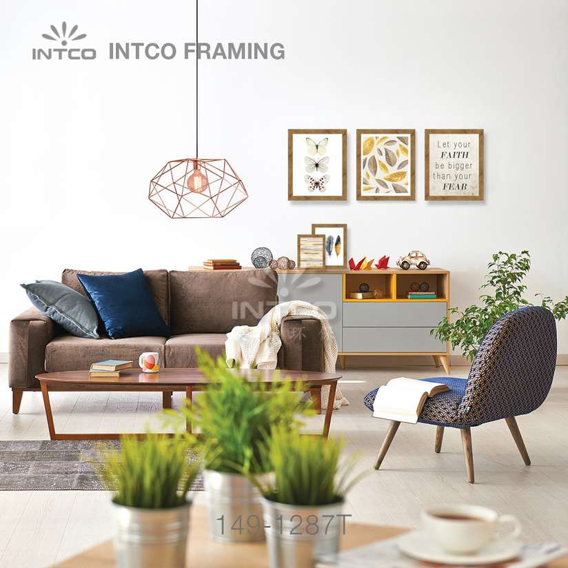 149-1287T PS picture frame moulding idea for wall