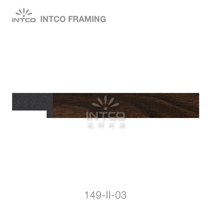 149-II-03 PS picture frame moulding swatch sample