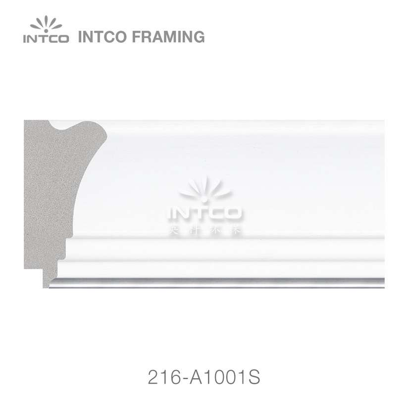 216-A1001 polystyrene wedding photo frame moulding swatch sample