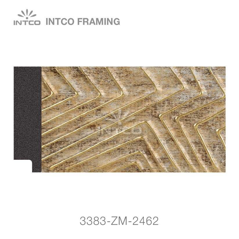 3383-ZM-2462 PS mirror frame moulding swatch sample