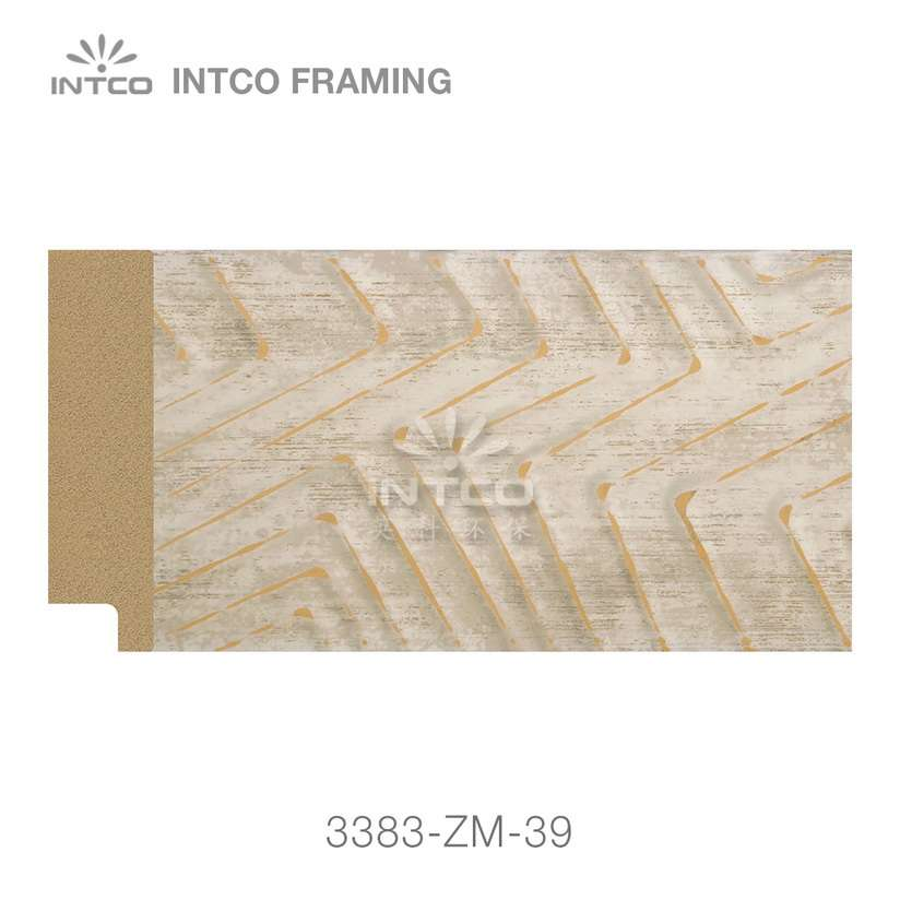 3383-ZM-39 PS mirror frame moulding swatch sample