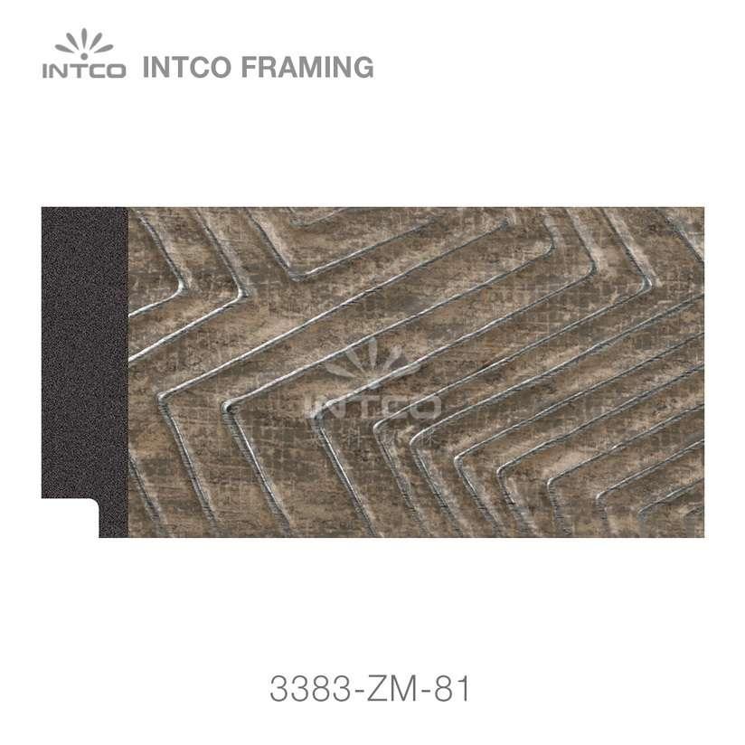 3383-ZM-81 PS mirror frame moulding swatch sample