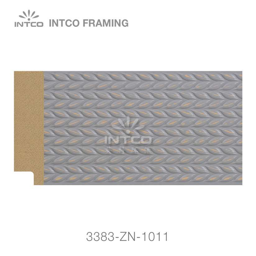 3383-ZN-1011 PS mirror frame moulding swatch sample