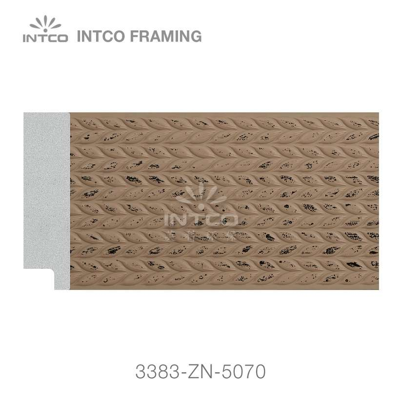 3383-ZN-5070 PS mirror frame moulding swatch sample