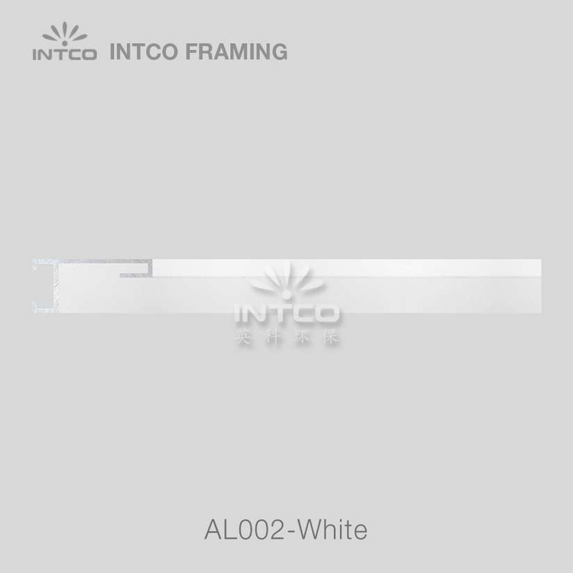 #Al002 white metal picture frame moulding