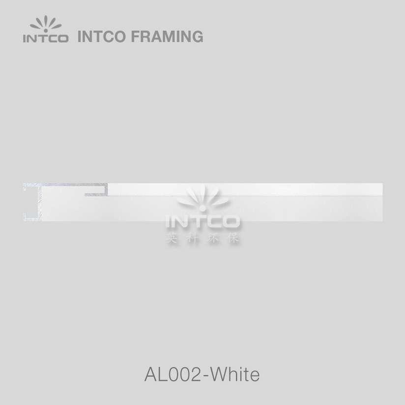 #Al002 white metal picture frame moulding