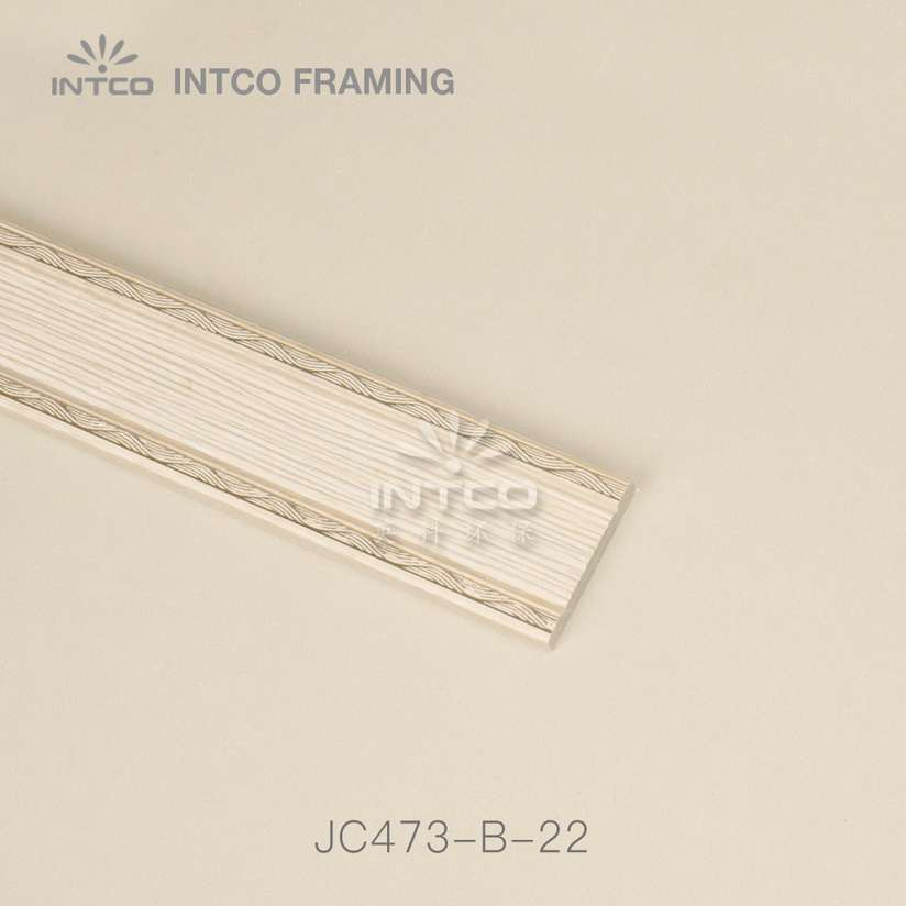 INTCO JC473-B-22 PS wall panel moulding light wood grain