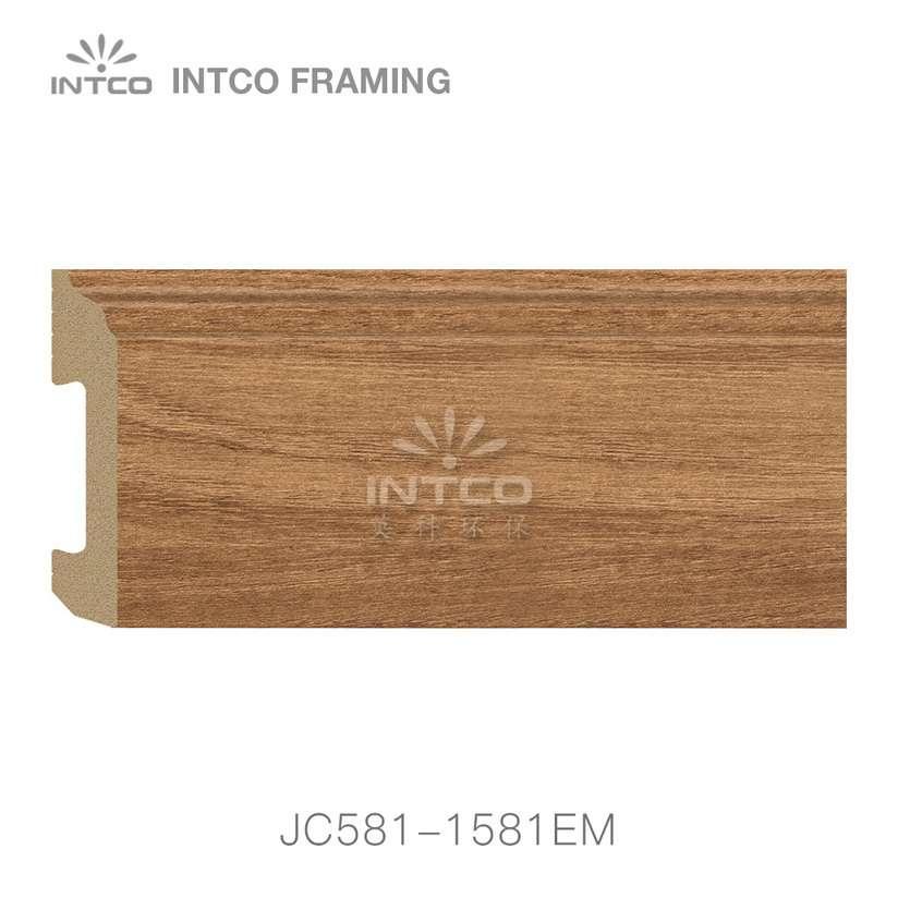 JC581-1581EM PS baseboard moulding swatch sample