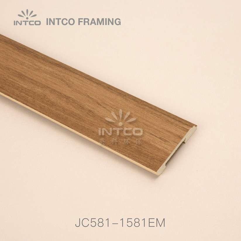 JC581-1581EM PS baseboard moulding wood finish