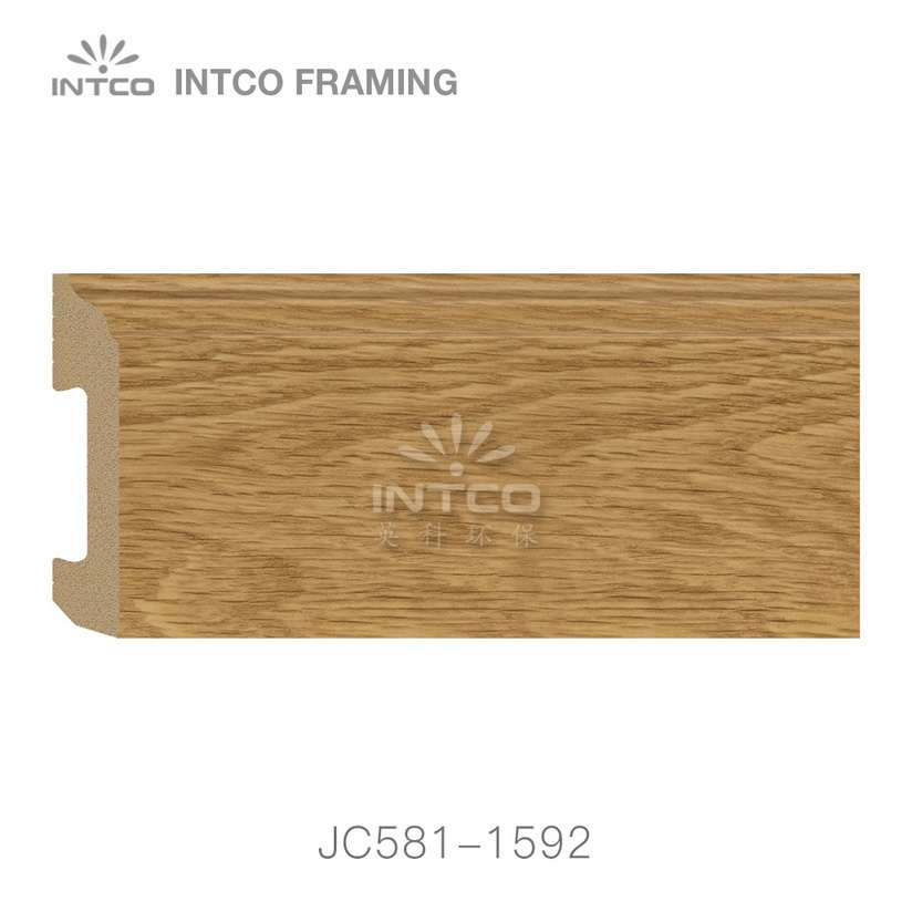 JC581-1592 PS baseboard moulding swatch sample