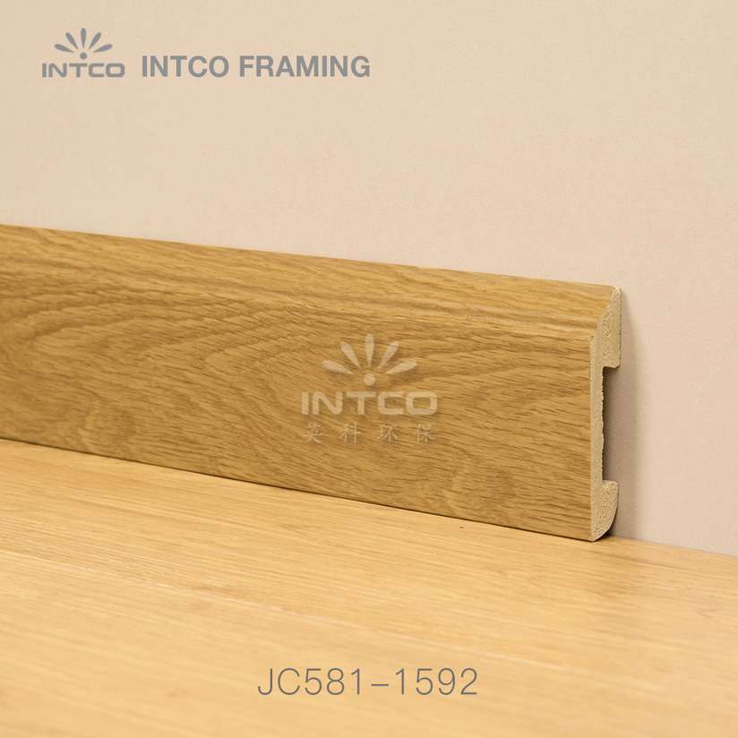 JC581-1592 PS picture frame moulding for skirting boards