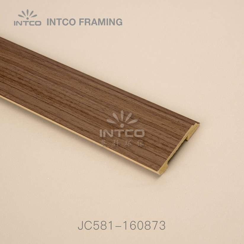 JC581-160873 PS baseboard moulding wood finish