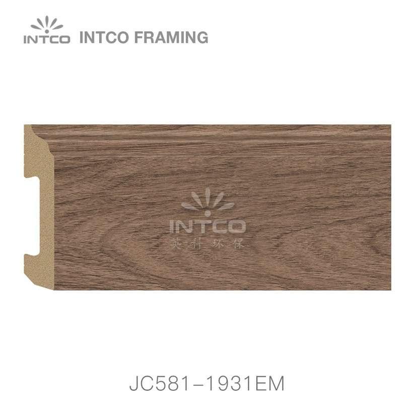JC581-1931EM PS baseboard moulding swatch sample