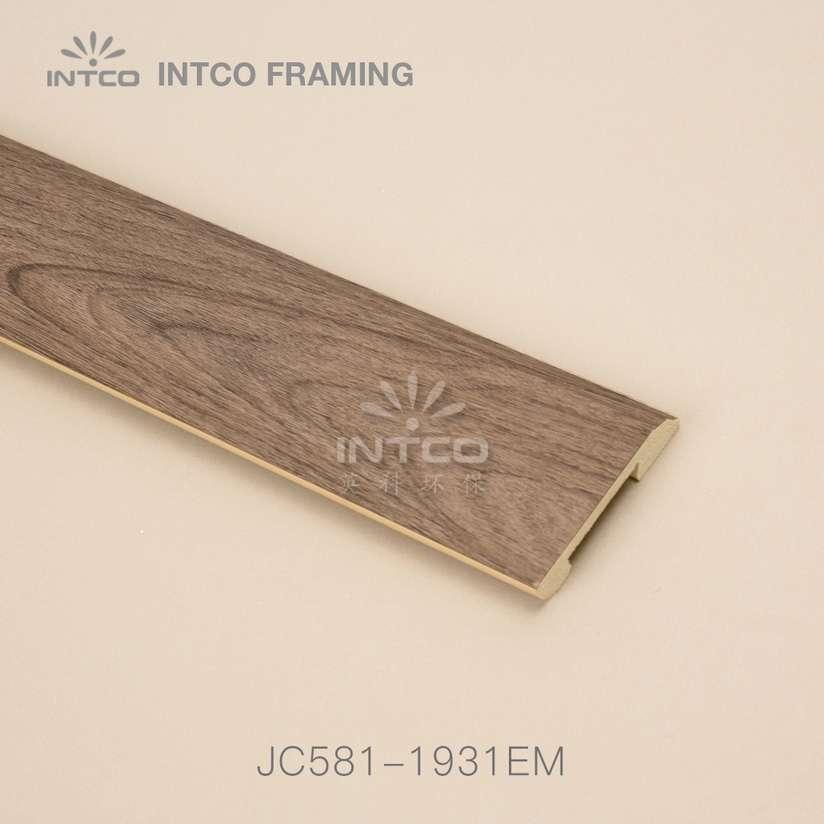 JC581-1931EM PS baseboard moulding wood finish