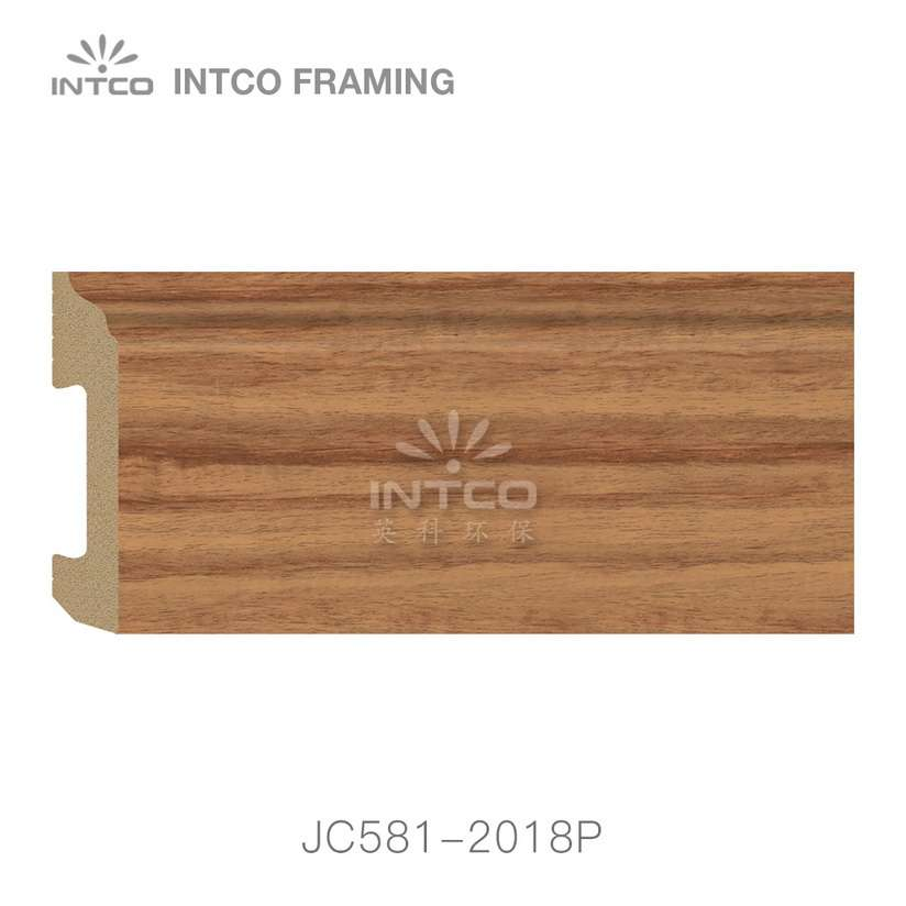 JC581-2018P PS baseboard moulding swatch sample